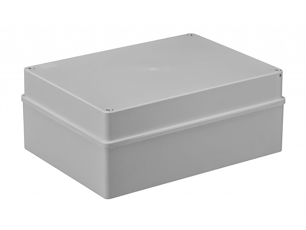 Plastová krabička S-BOX616, šedá