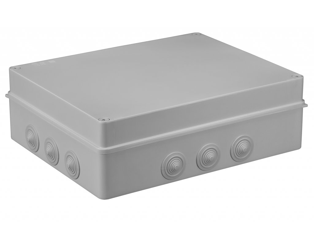 Plastová krabička S-BOX706, šedá