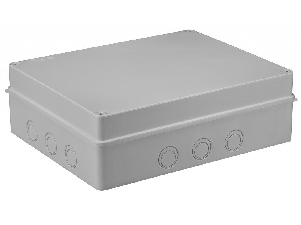 Plastová krabička S-BOX716, šedá