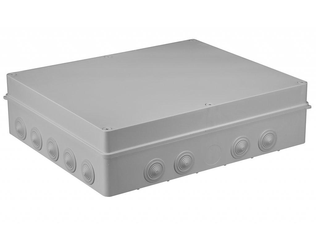 Plastová krabička S-BOX806, šedá