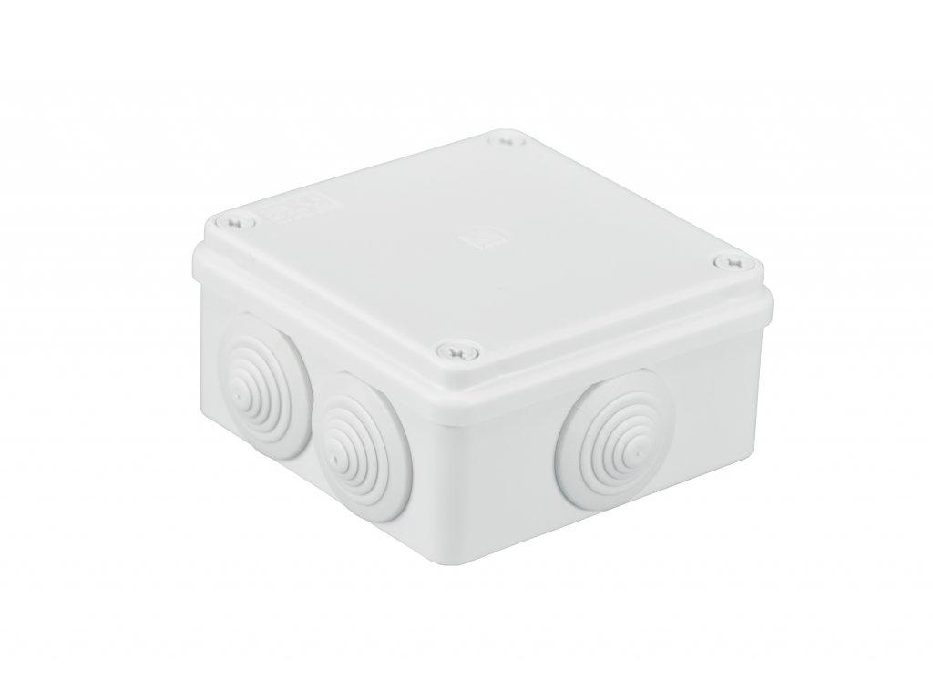 Plastová krabička S-BOX106B, bílá