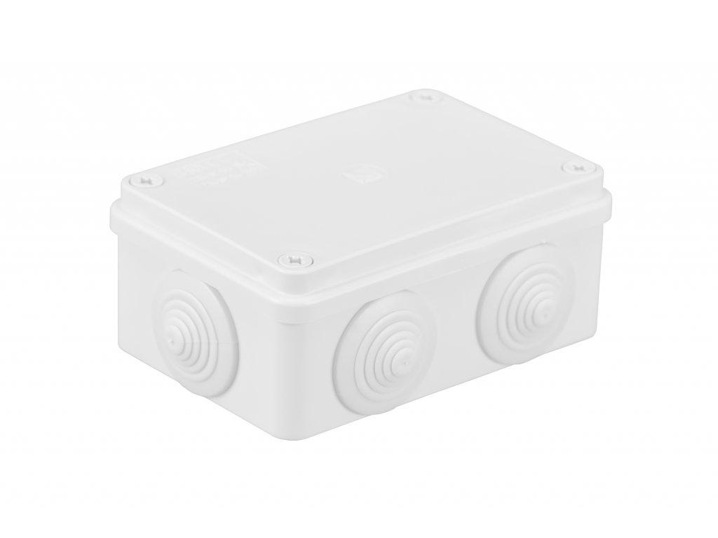 Plastová krabička S-BOX206B, bílá