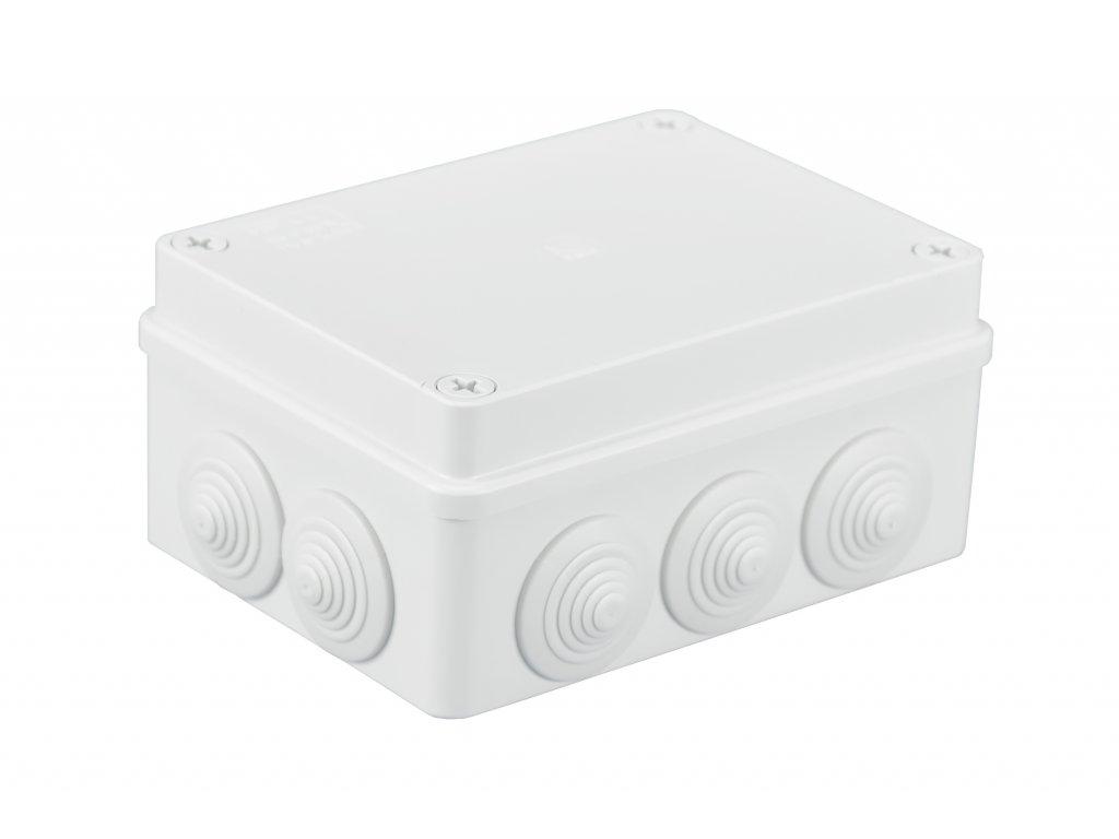 Plastová krabička S-BOX306B, bílá