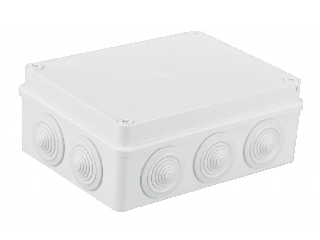 Plastová krabička S-BOX406B, bílá