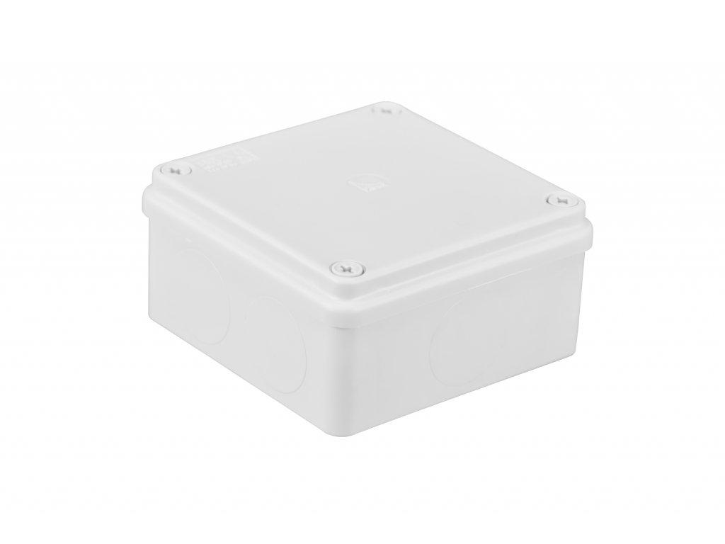 Plastová krabička S-BOX116B, bílá