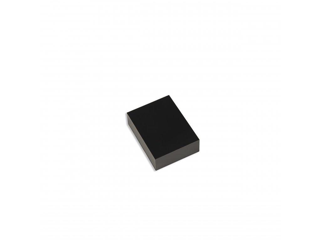 Plastová krabička KM7B, černá