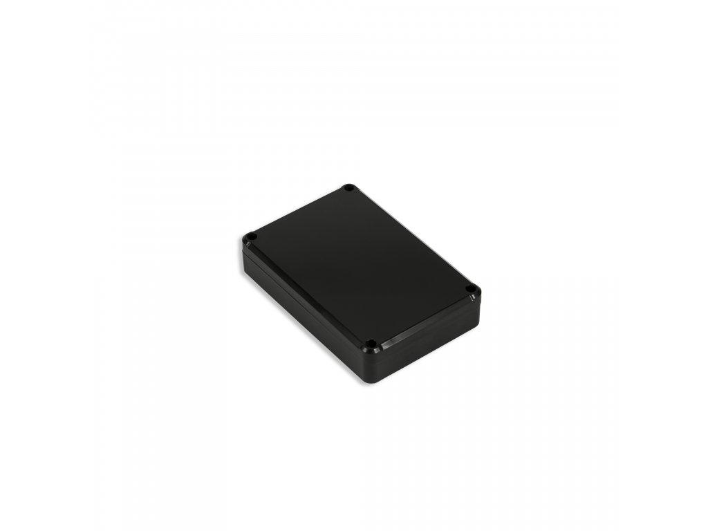 Plastová krabička KM77H TM, černá