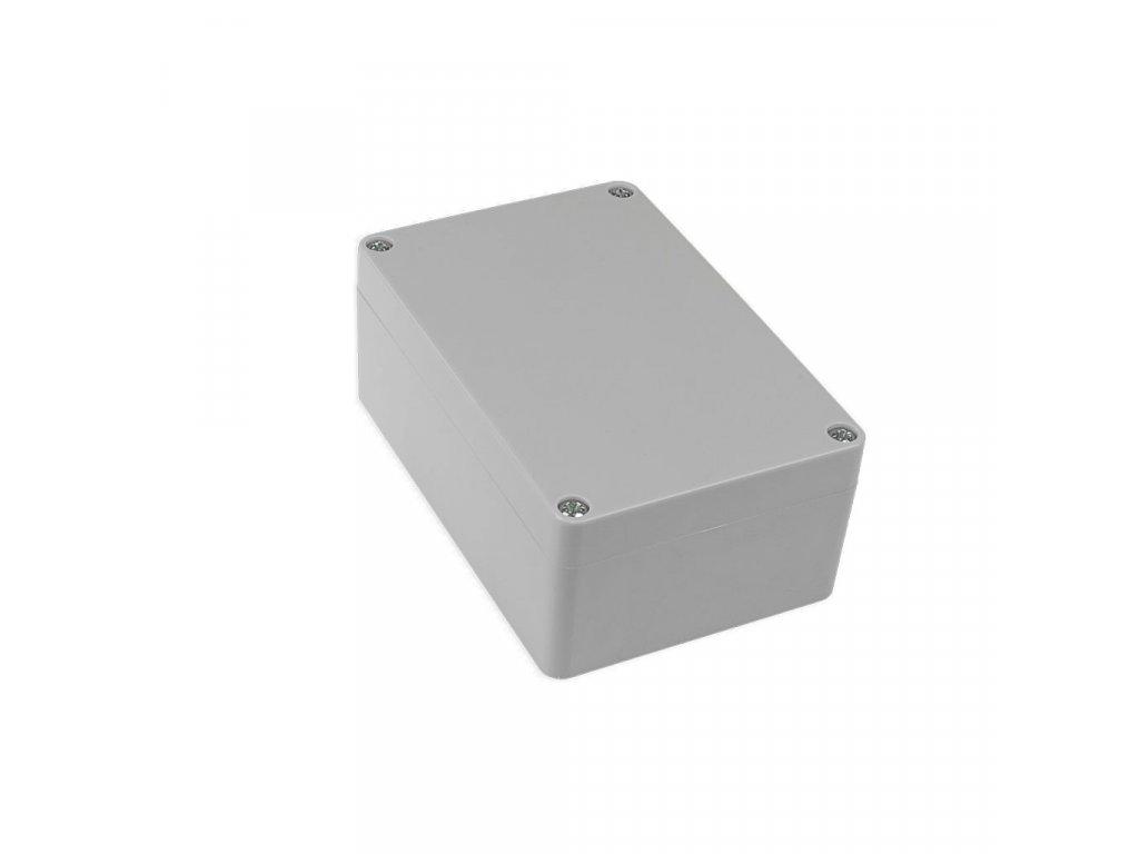 Plastová krabička KM175H TM, šedá