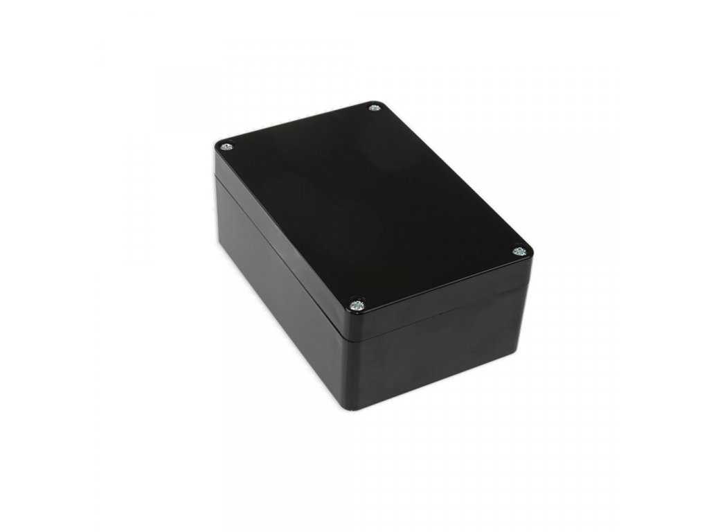 Plastová krabička KM175H TM, černá