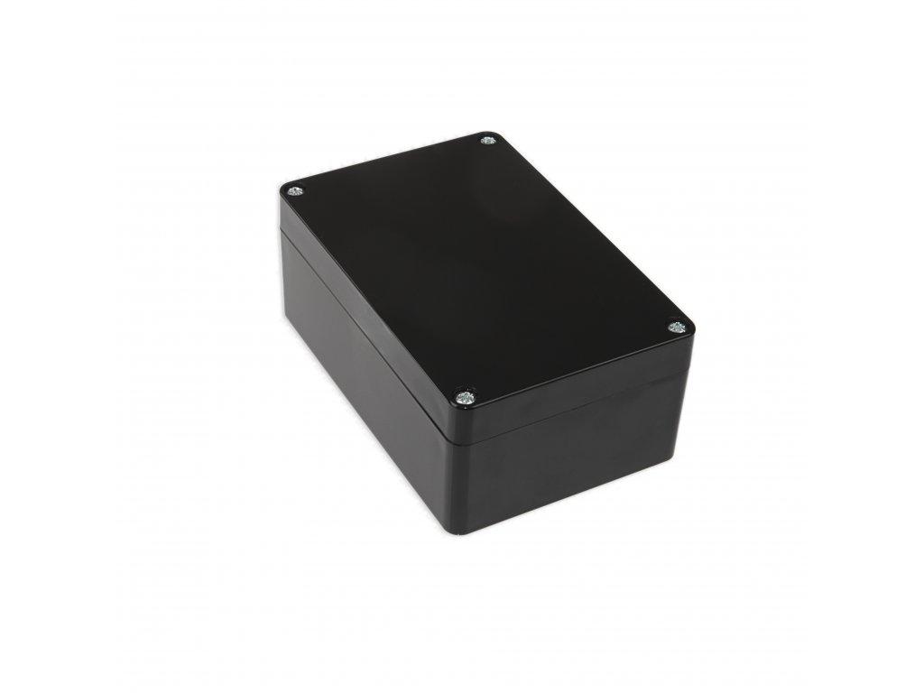 Plastová krabička KM175, černá