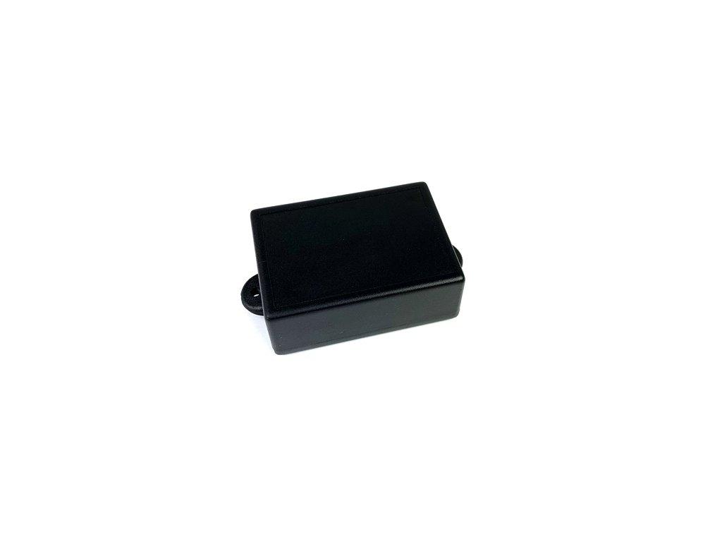 Plastová krabička KM102U, černá