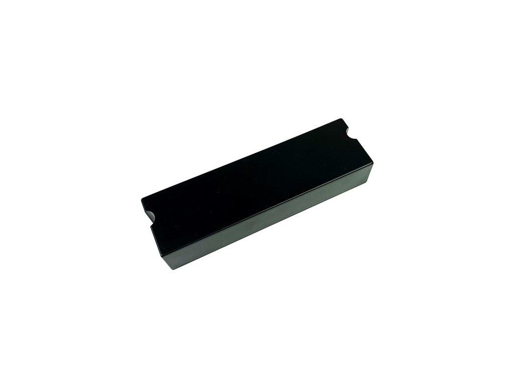 Plastová krabička KM101, černá