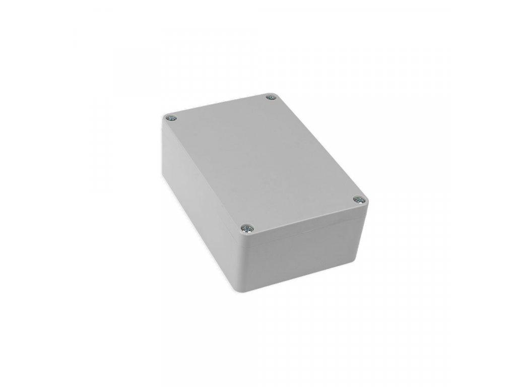 Plastová krabička KM176H TM, šedá