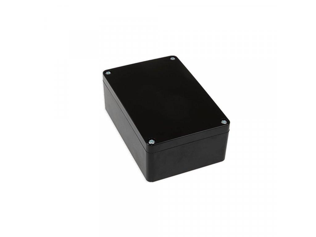 Plastová krabička KM176H TM, černá
