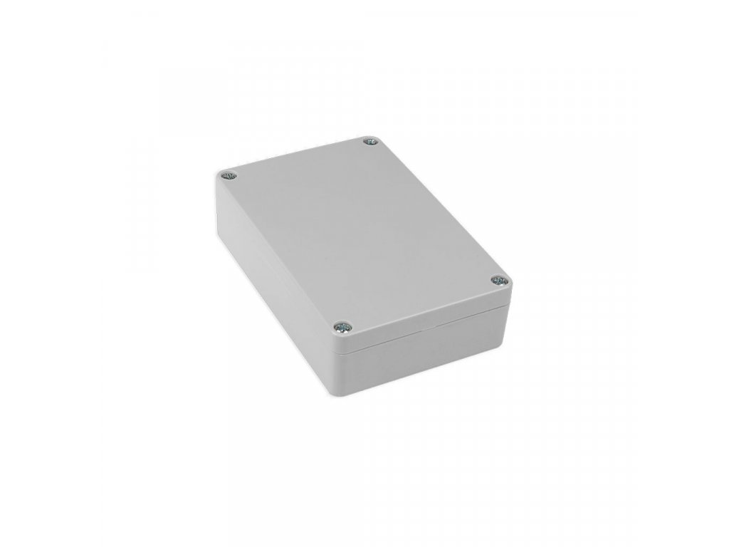 Plastová krabička KM178H TM, šedá