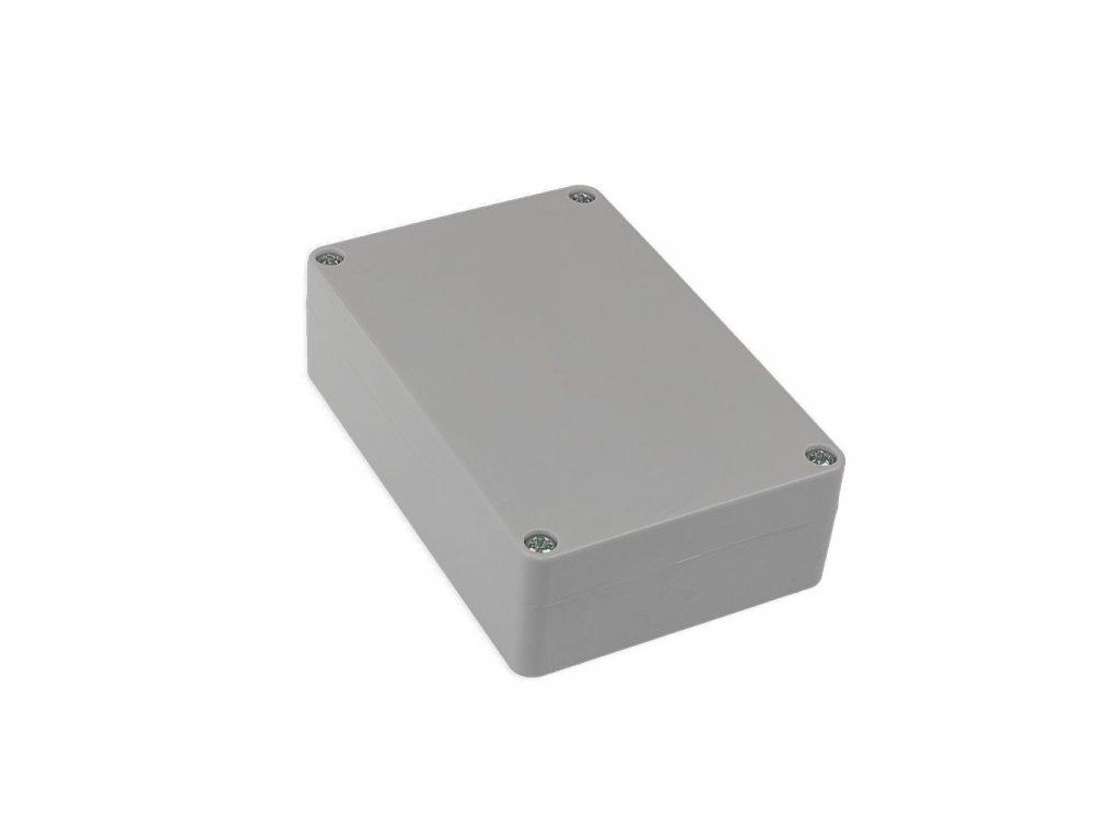 Plastová krabička KM177H TM, šedá