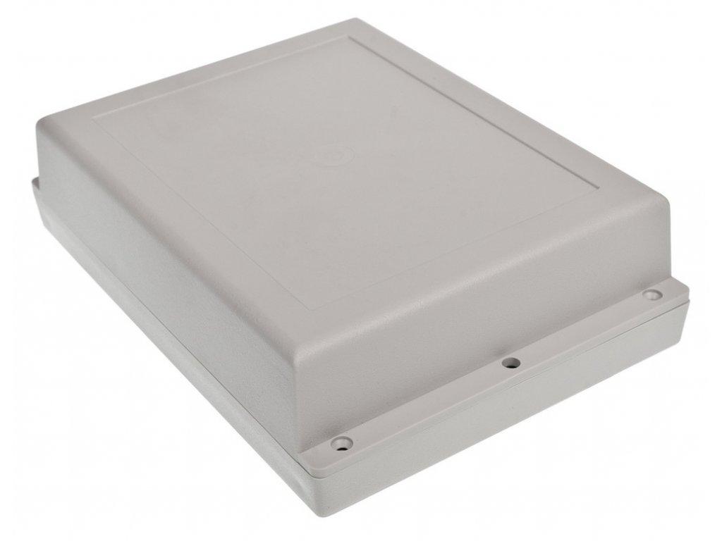 Plastová krabička Z46JH ABS, šedá