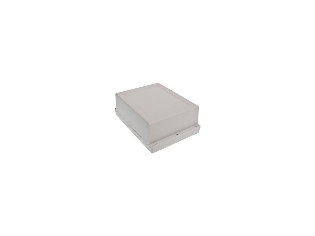 Plastová krabička Z46AJ ABS, šedá