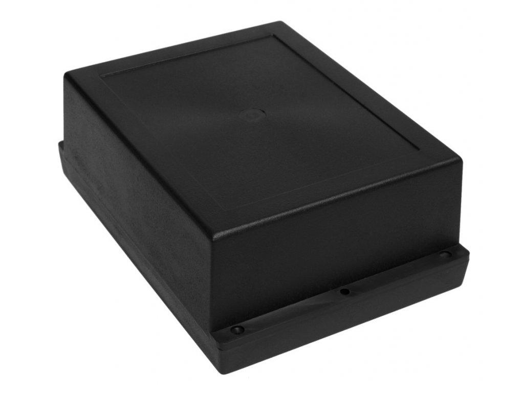Plastová krabička Z46AH ABS, černá