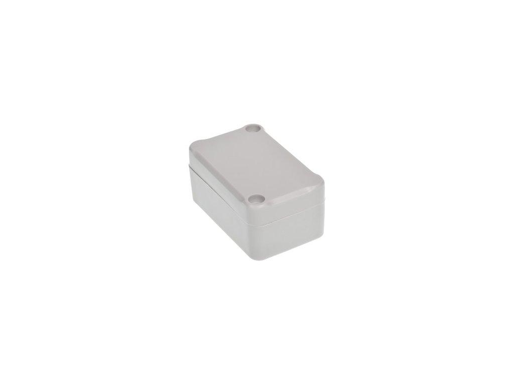 Plastová krabička Z65J ABS, šedá