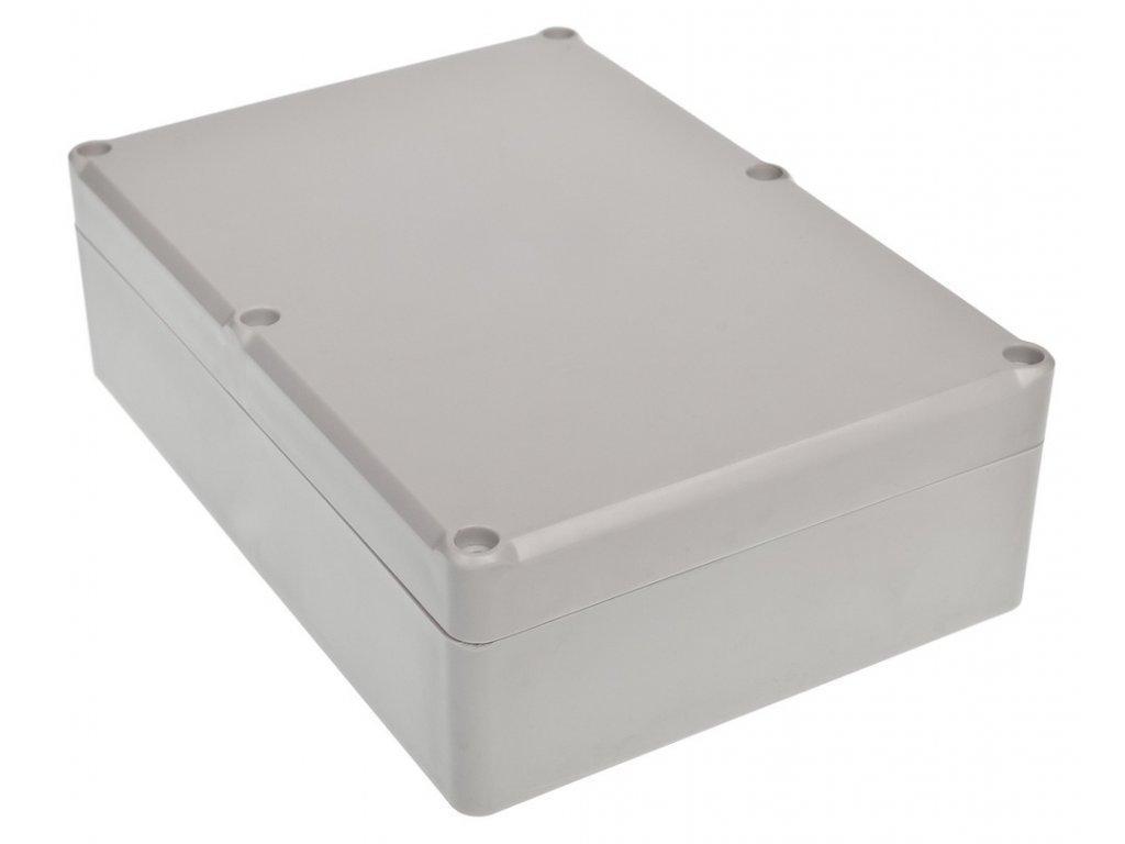 Plastová krabička Z74JH ABS, šedá