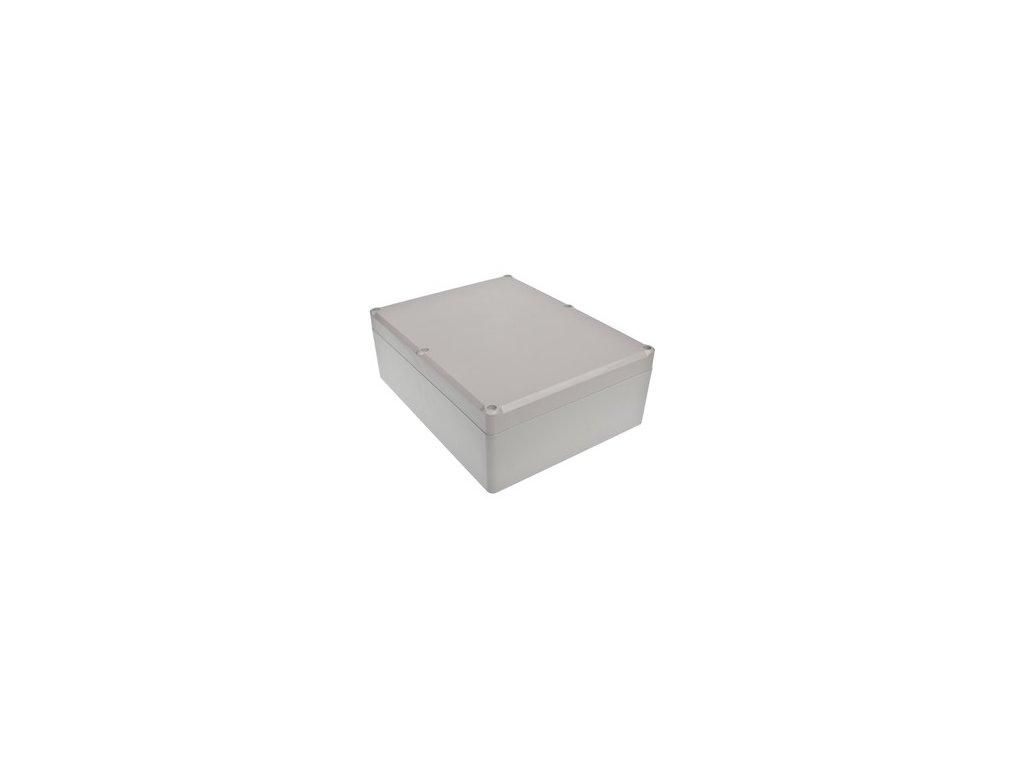 Plastová krabička Z90J ABS, šedá