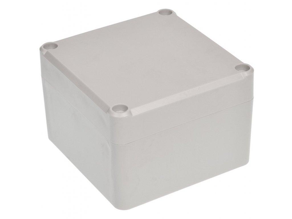 Plastová krabička Z111J ABS, šedá