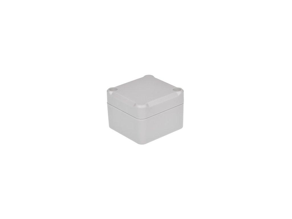 Plastová krabička Z116J ABS, šedá