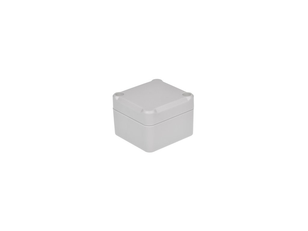 Plastová krabička Z116JH ABS, šedá