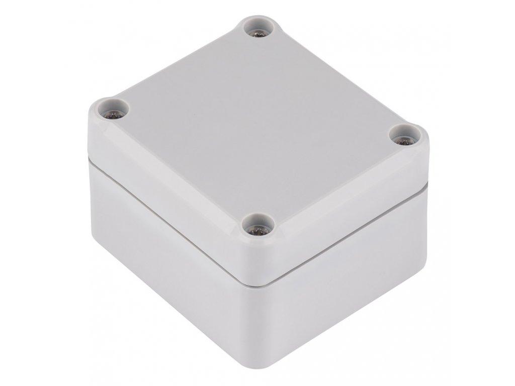 Plastová krabička Z117J ABS, šedá