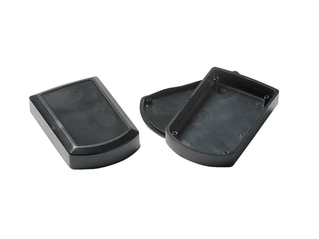 Plastová krabička KM100H, černá
