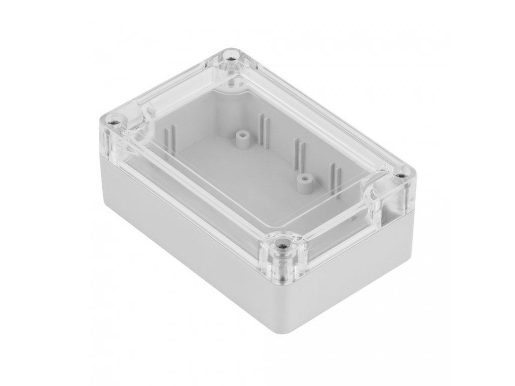 Plastová krabička Z128JpH TM PC, šedá