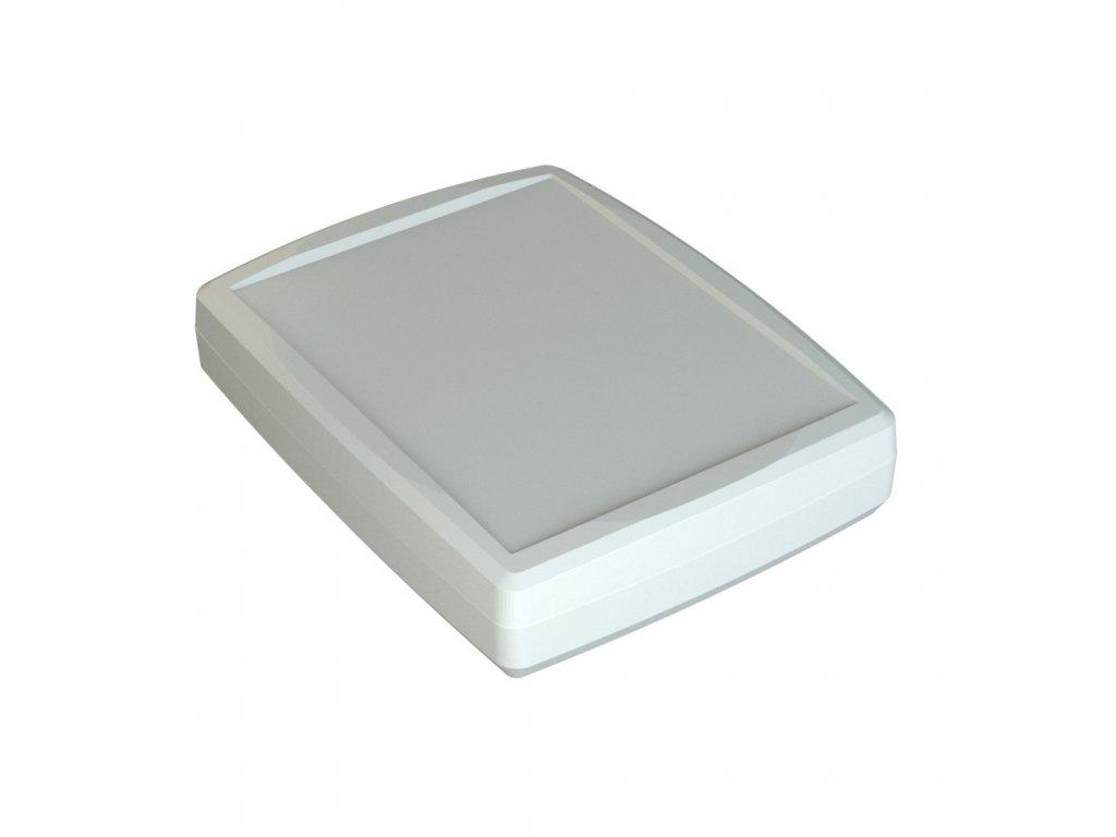 Plastová krabička Z124bH, bílá