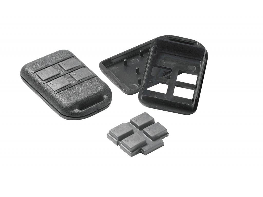 Plastová krabička KM102, černá
