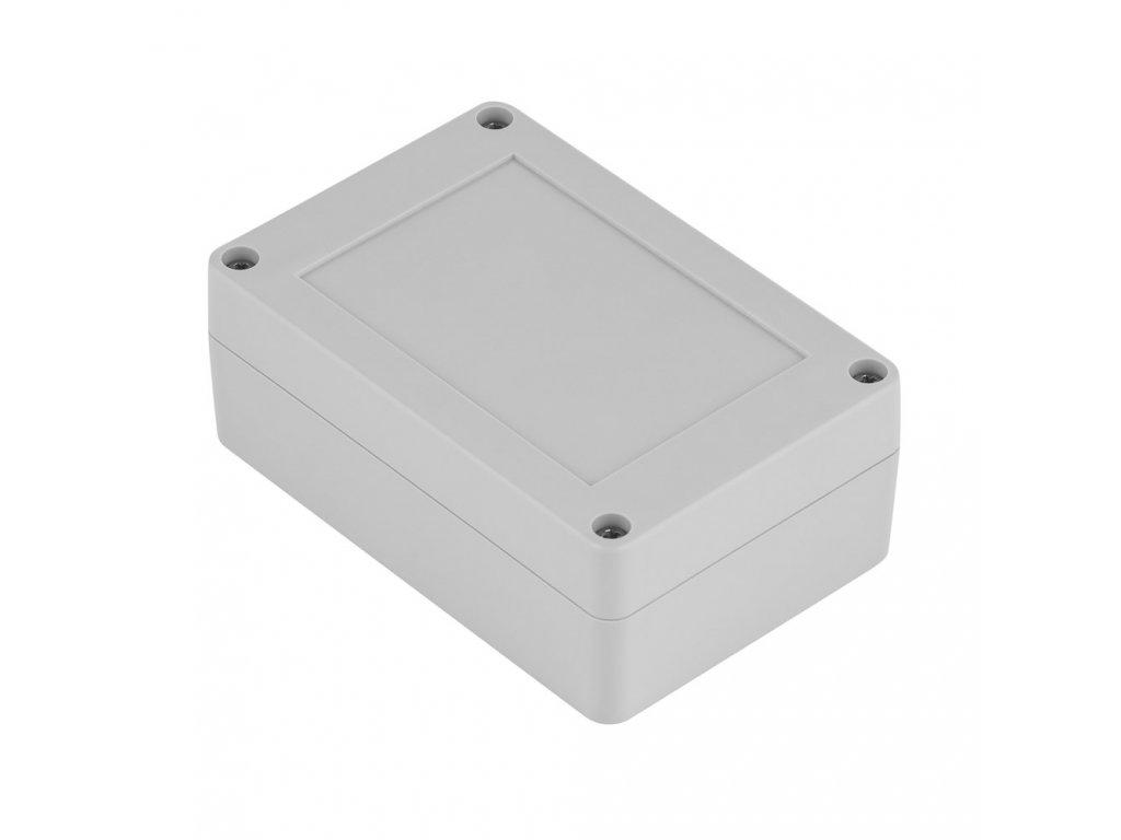 Plastová krabička Z128JS TM PC, šedá