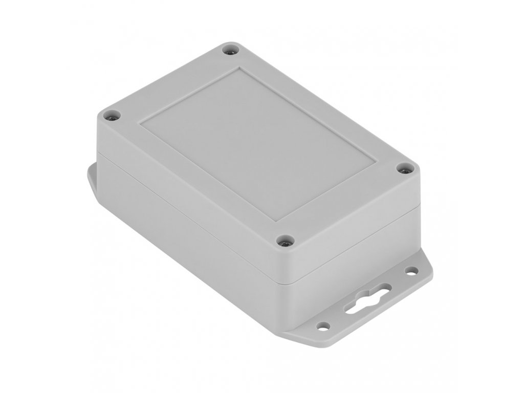 Plastová krabička Z128UJS TM PC, šedá