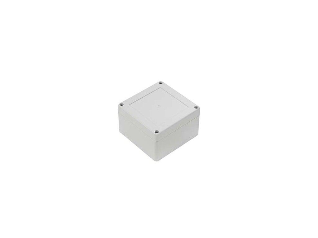 Plastová krabička ZP105.105.60JH TM PC, šedá