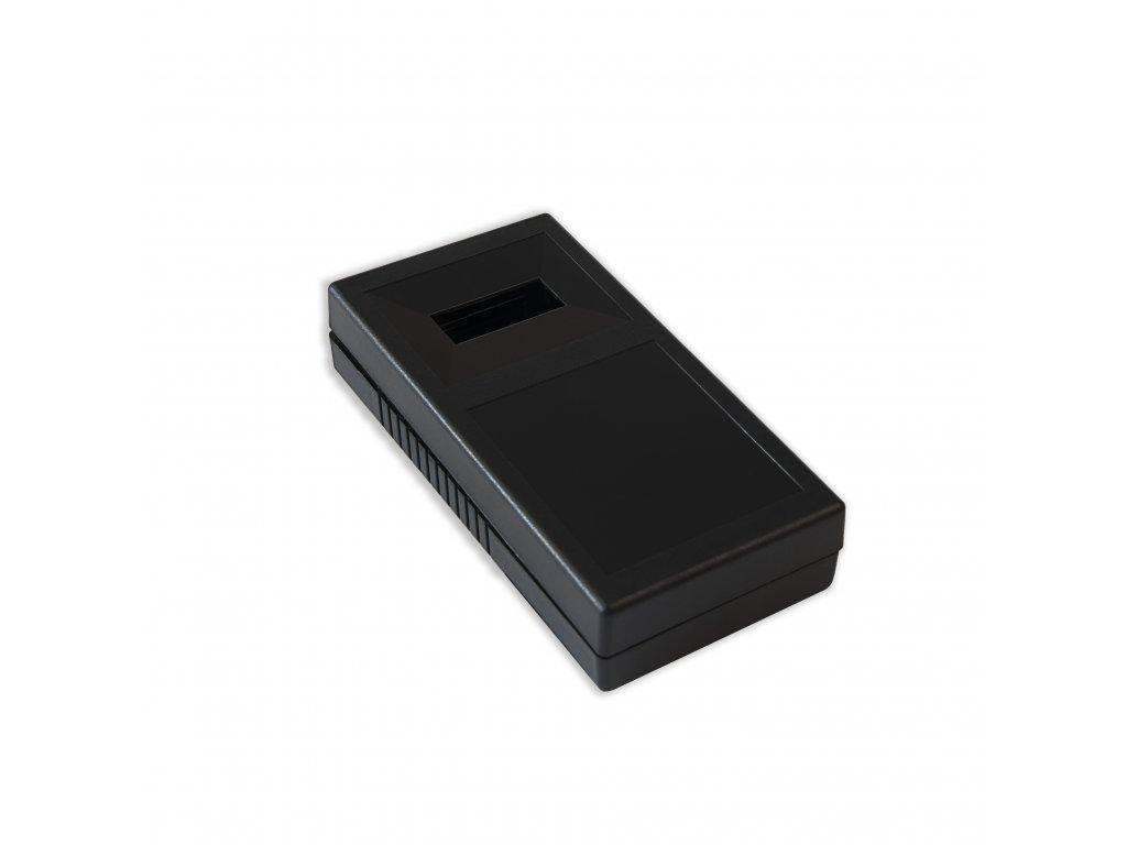 Plastová krabička KM103B, černá