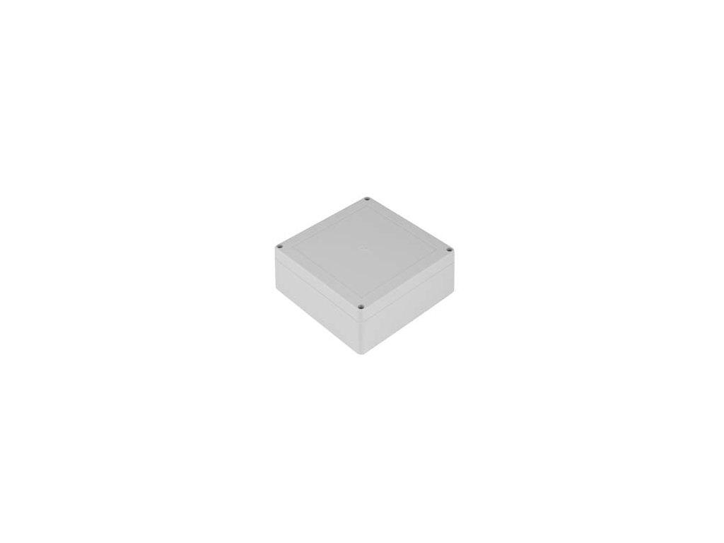 Plastová krabička ZP120.120.60JH TM PC, šedá