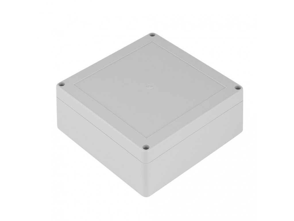 Plastová krabička ZP150.150.60J TM PC, šedá