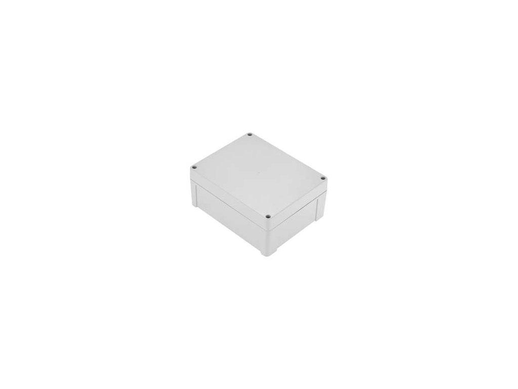 Plastová krabička ZP240.190.105J TM PC, šedá
