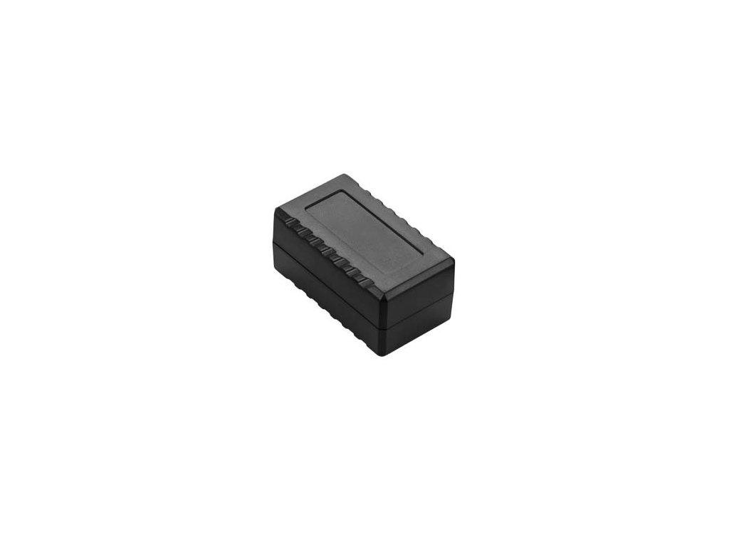 Plastová krabička Z130, černá