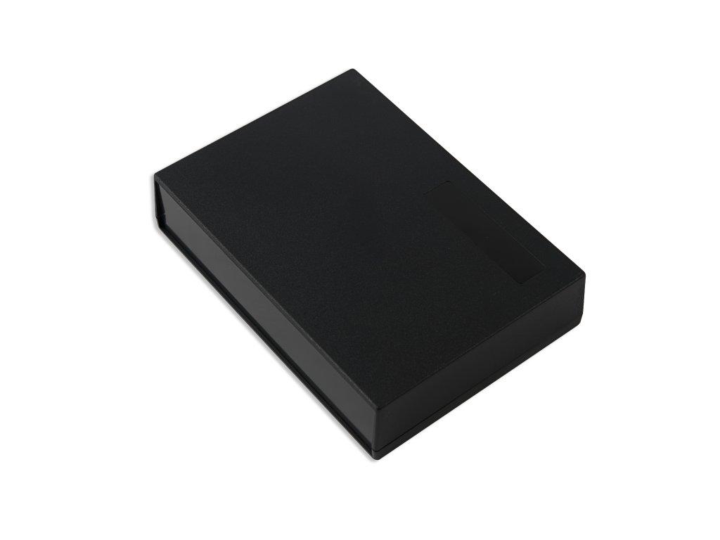 Plastová krabička KM106, černá
