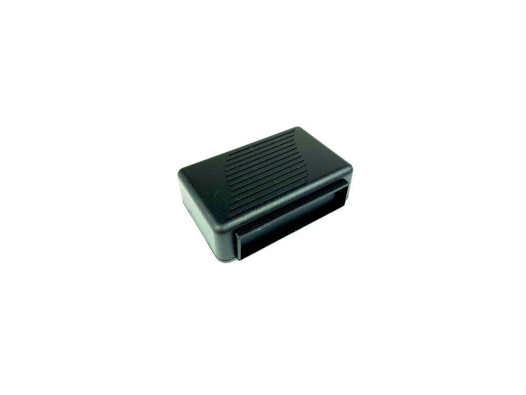 Plastová krabička KM87, černá