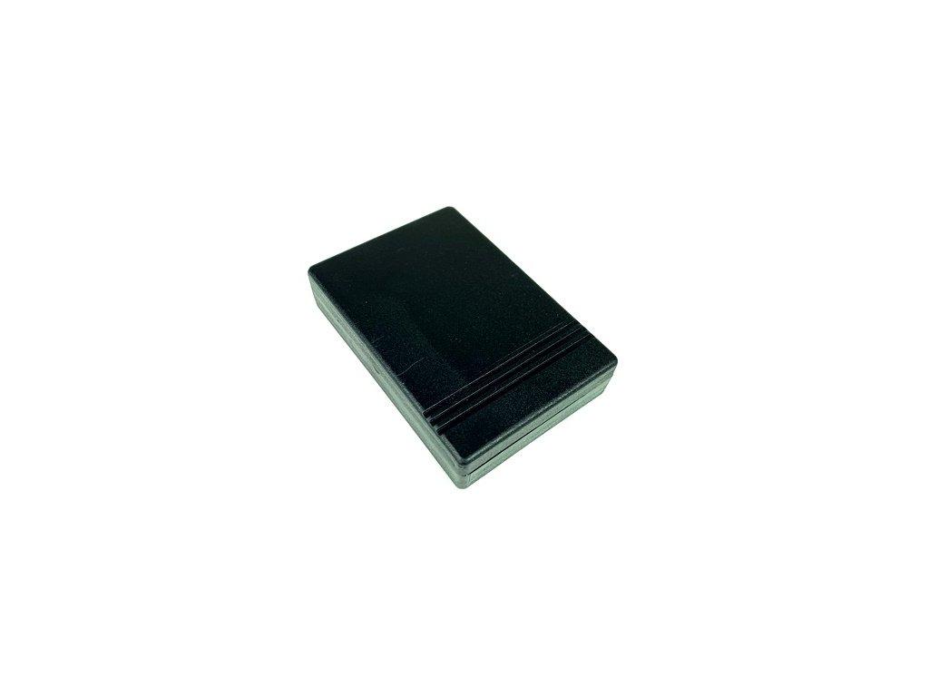 Plastová krabička KM69, černá