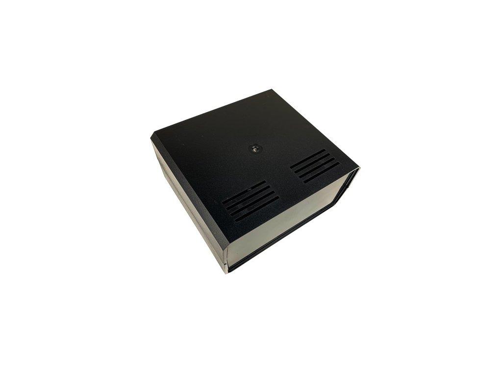 Plastová krabička KM85B, černá