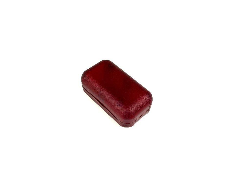 Plastová krabička KM24, červená