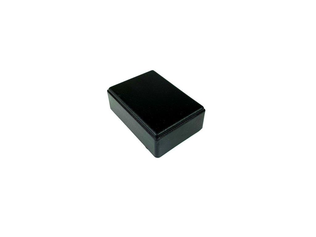 Plastová krabička KM27C, černá
