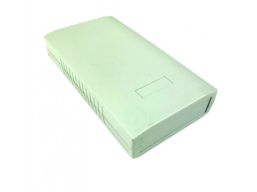 Plastová krabička BK413, šedá