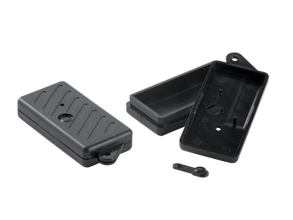 Plastová krabička KM12, černá